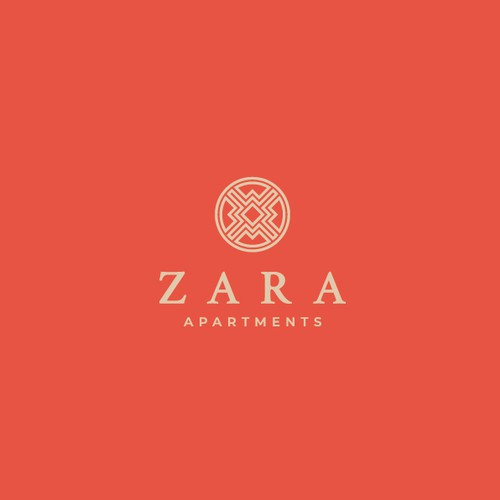 Logo Concept for Zara Apartments