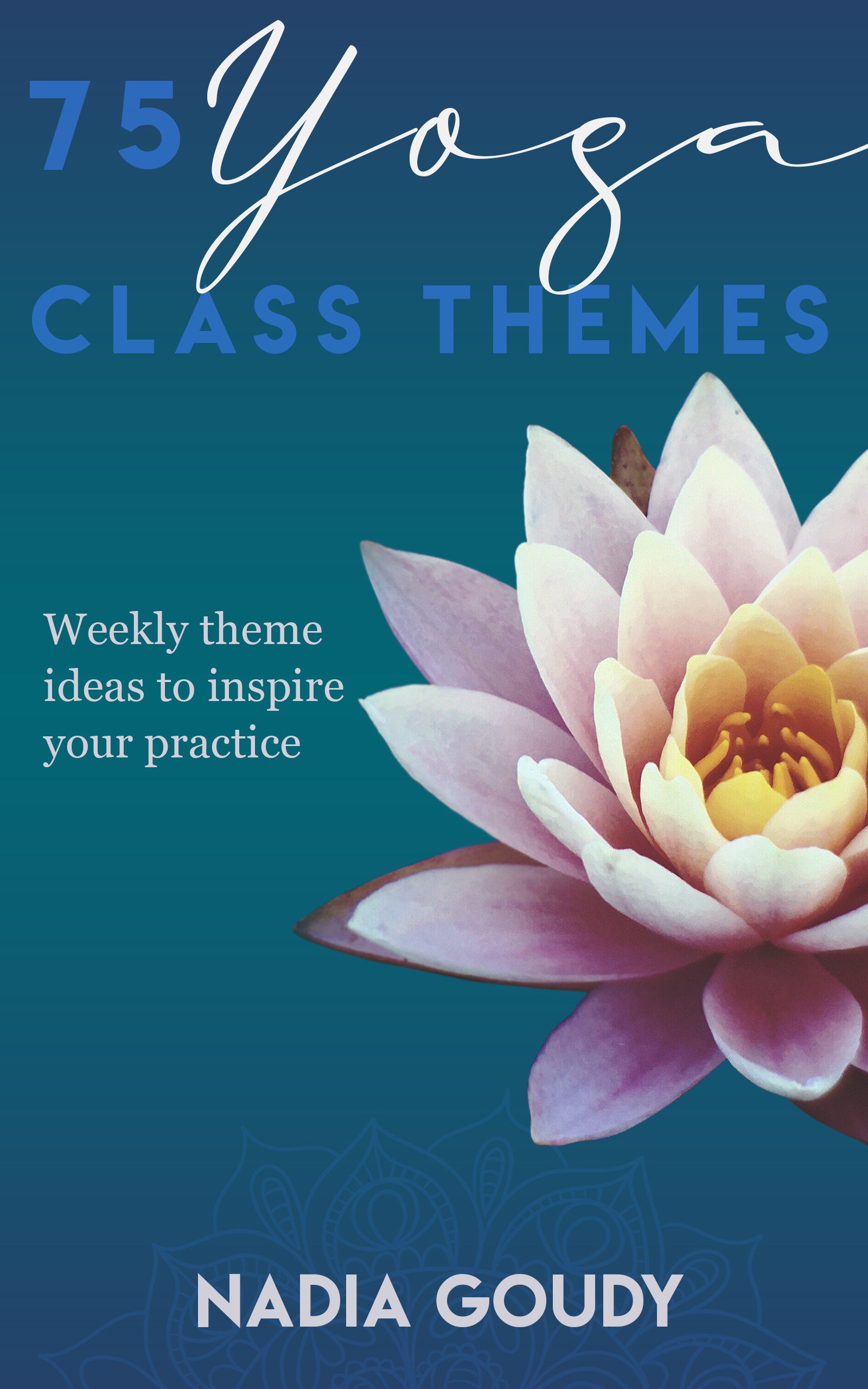 Yoga Class Themes Book Contest
