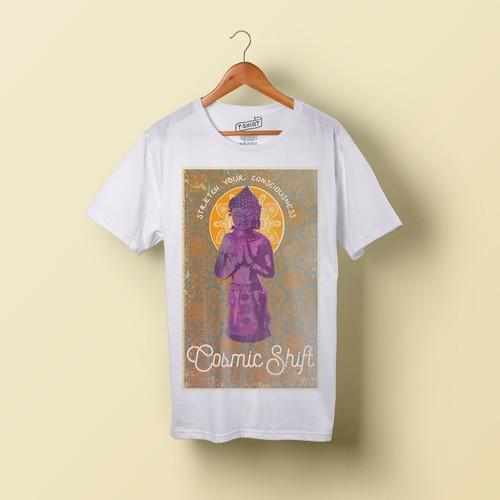 boho hipster buddha shirt