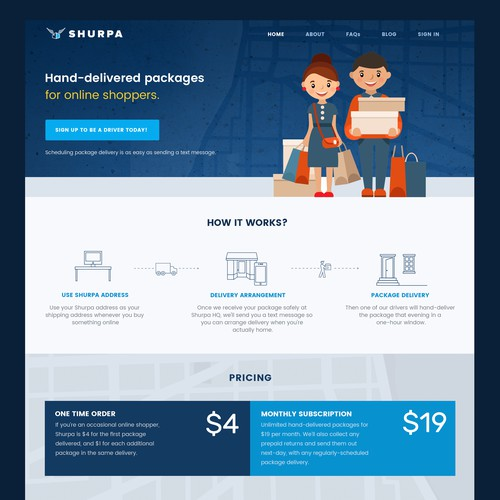 Shurpa Startup Delivery