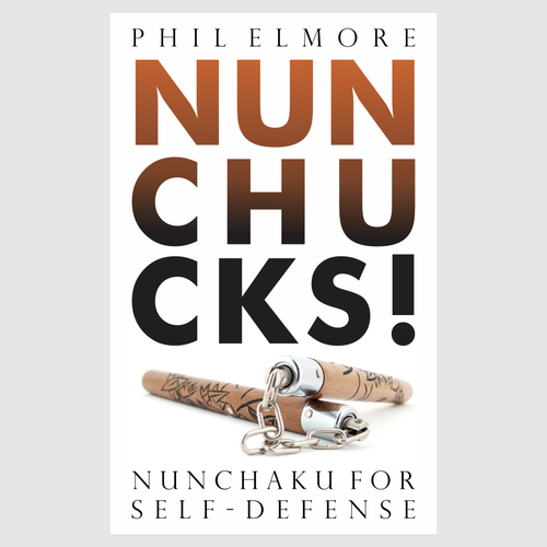 Book cover design for NUNCHUCKS