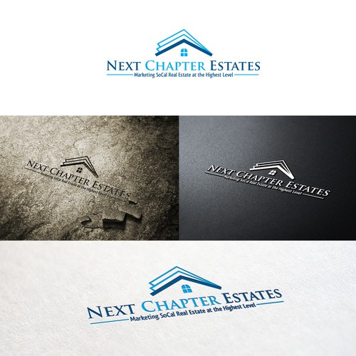 Logo made for NextChapter Real Estate