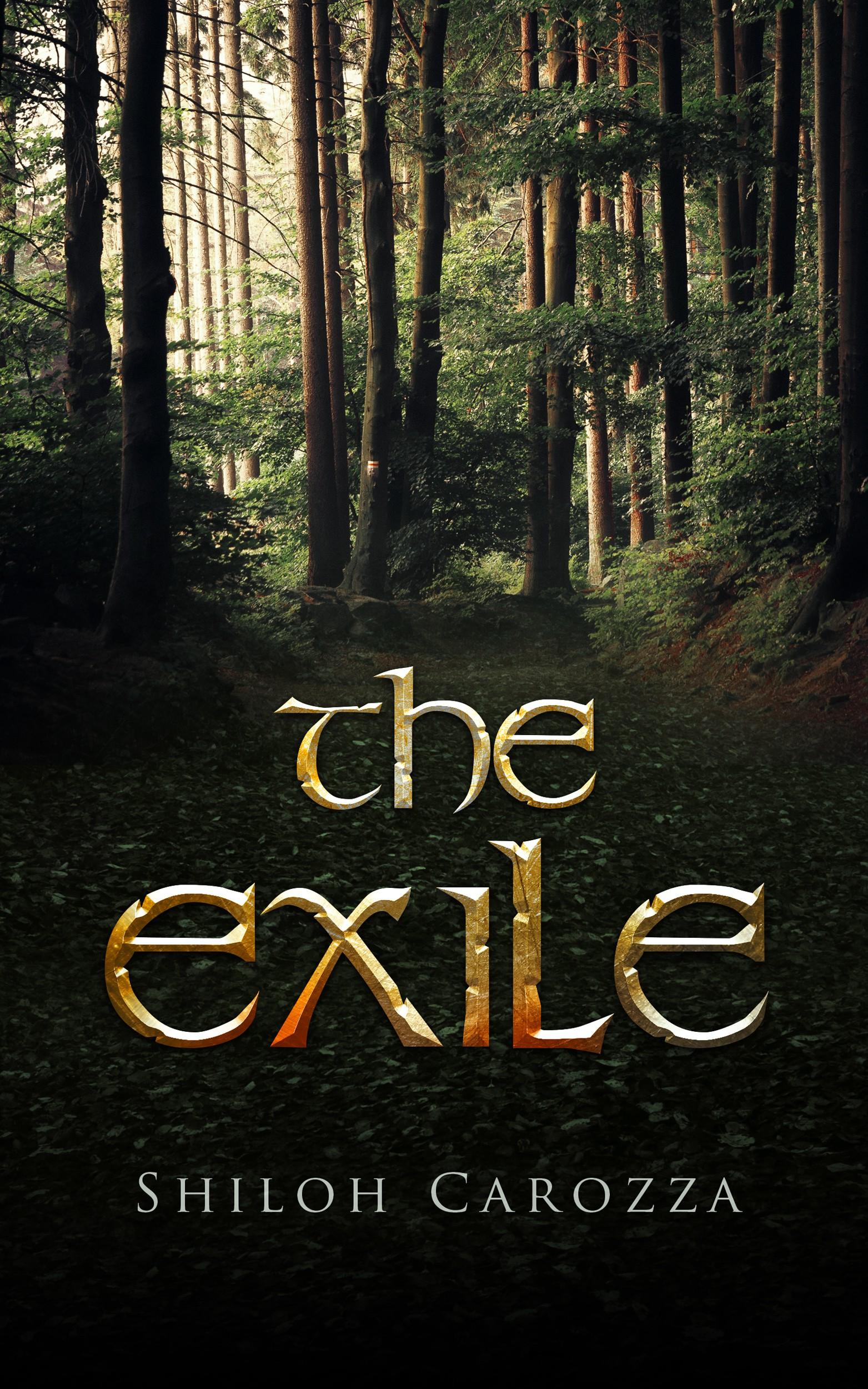 Create cover for medieval Scandinavian adventure novel The Exile