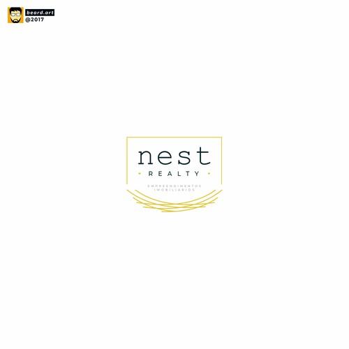nesy realty logo concept