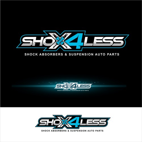 SHOX4LESS LOGO DESIGN