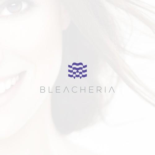 Purple design for White teeth.