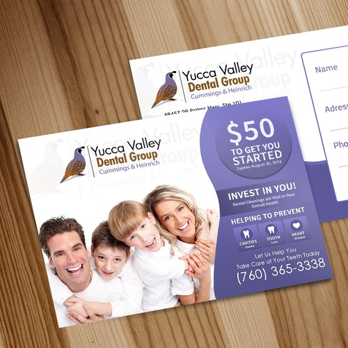 Postcard Design for Yucca Valley