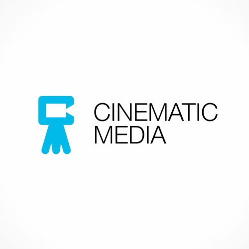 Logo design for Cinematic Media, a professional video production company