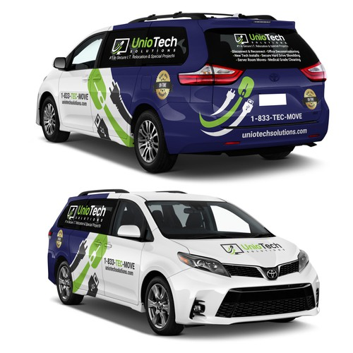 Unio Tech Solutions Car wrap