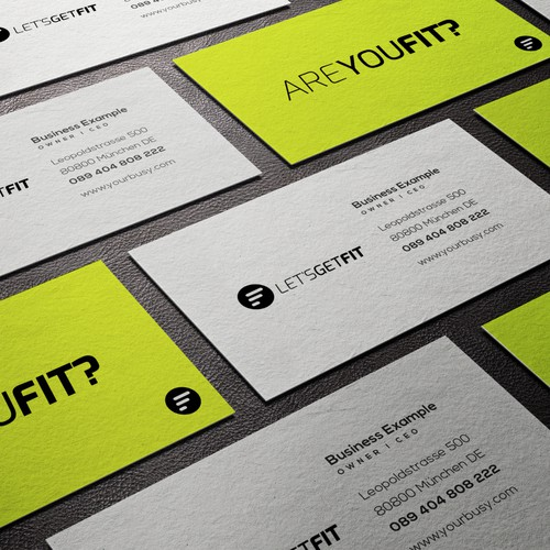 Logo for AREYOUFIT? Personal Training