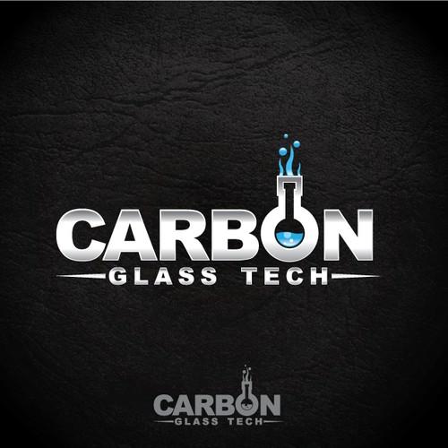 logo design for Carbon Glass Tech