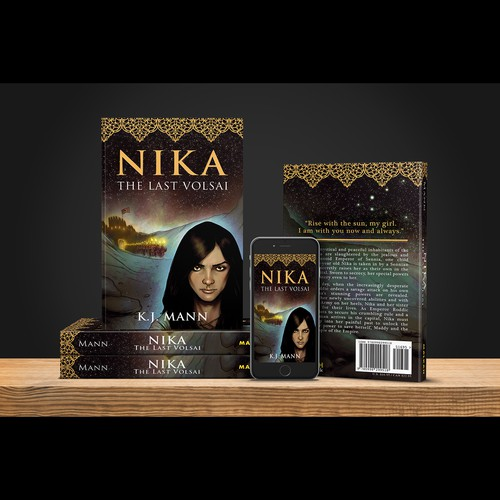"""Book cover for """"Nika"""""""