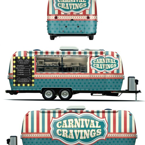 Airstream Wrap Design
