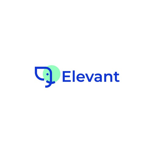 Modren logo for AI startup Company