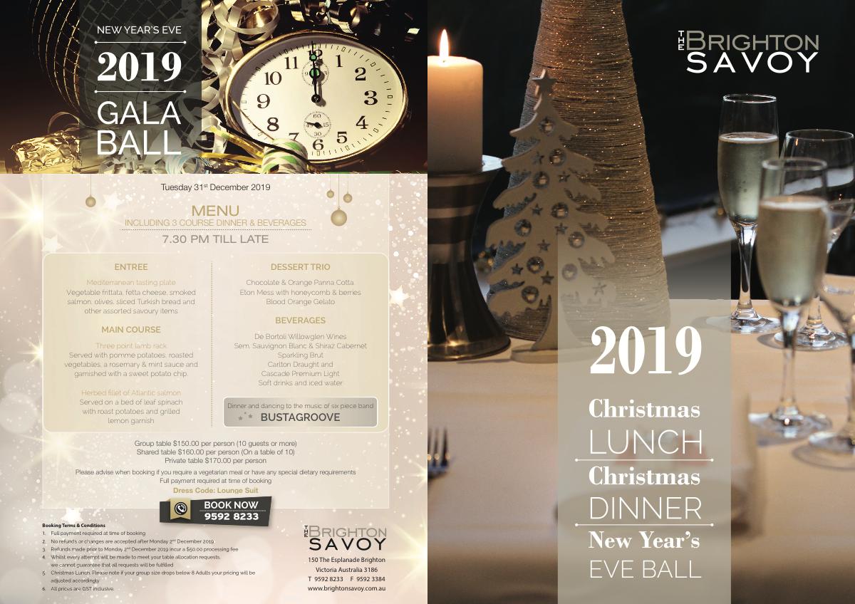 Update to 2018 Christmas Brochure