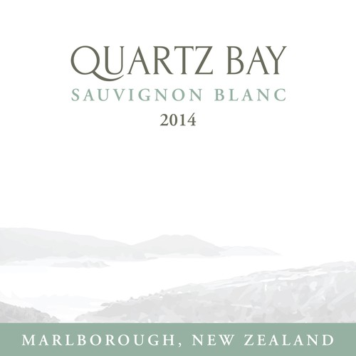 Product label for 'Quartz Bay'