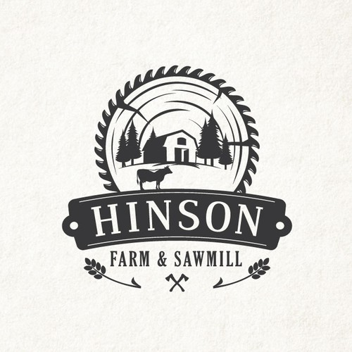 Family farm logo.