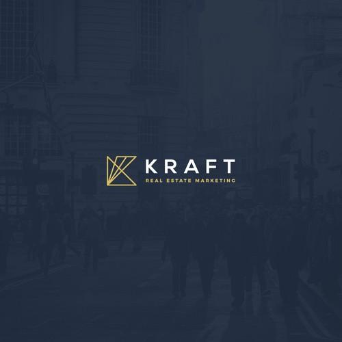 Logo concept for Kraft Real Estate Marketing