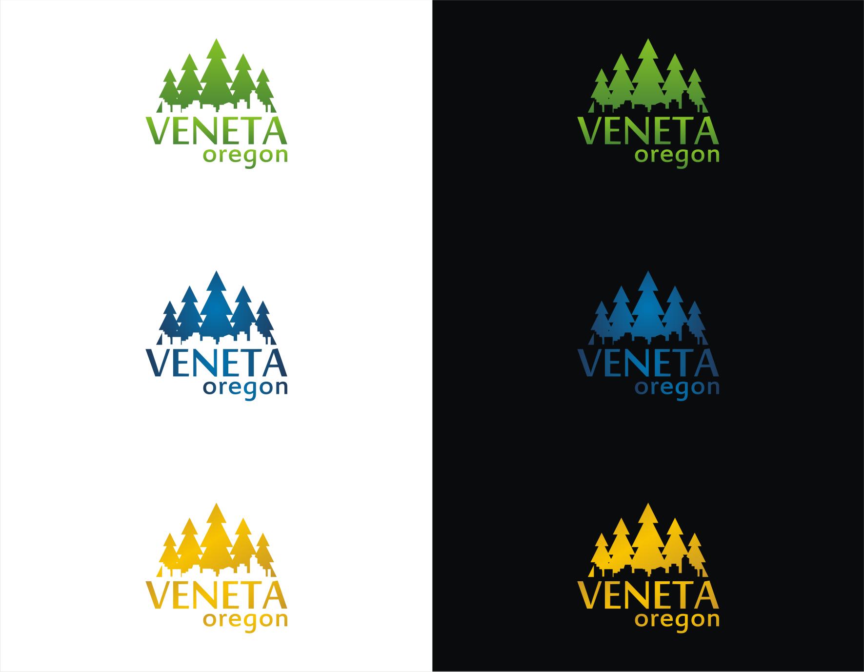 Design a logo for the City of Veneta