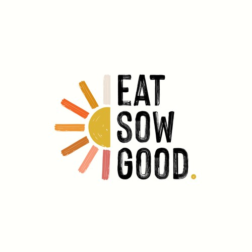 Brand Identity for Eat Sow Good.