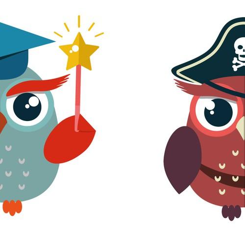 Mascot Owls Redesign .