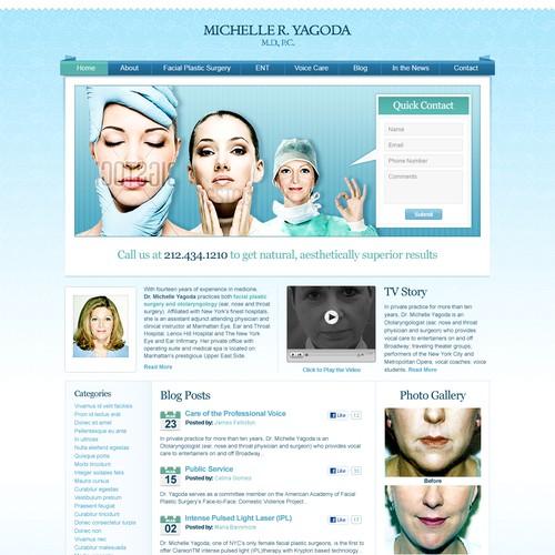Website Design for Plastic Surgeon