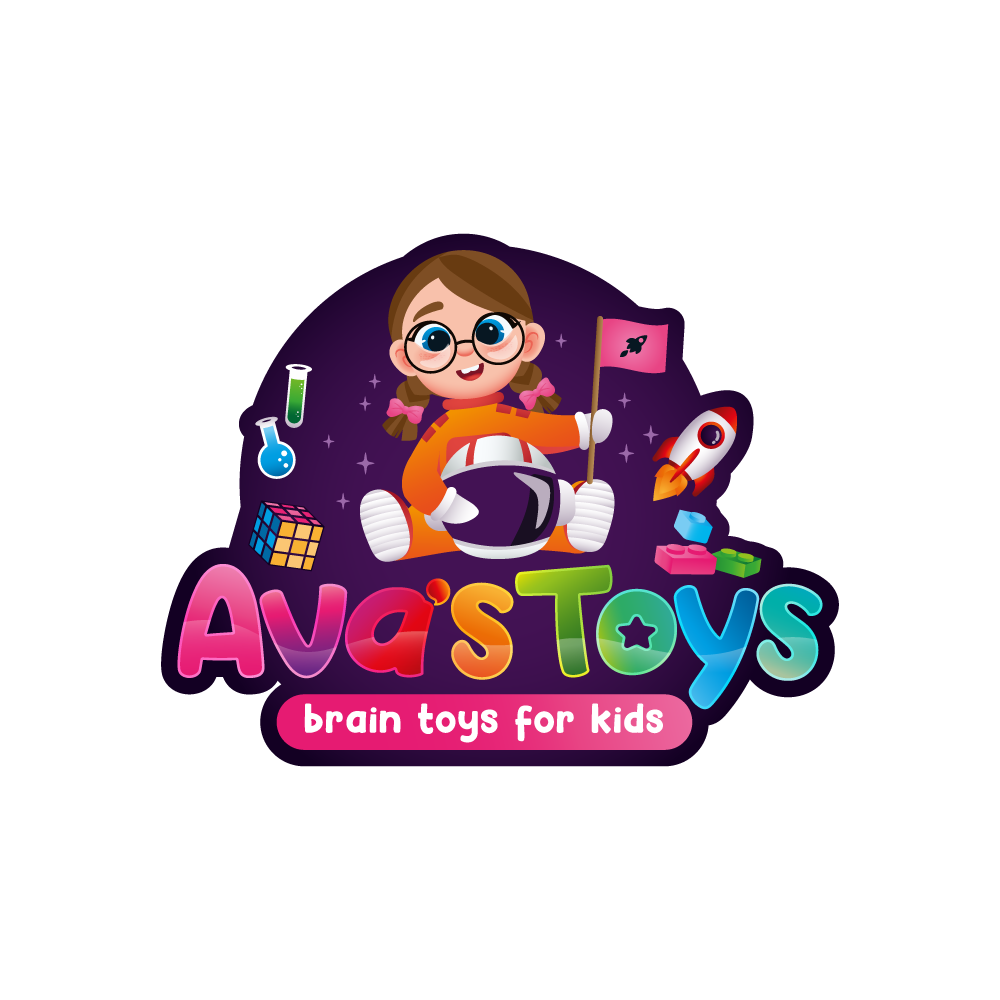Design a fun logo for a toy brand that appeals to kids