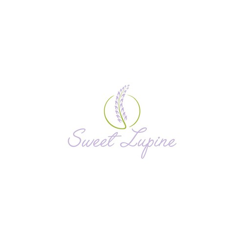 Create a lovely logo for Sweet Lupine boutique