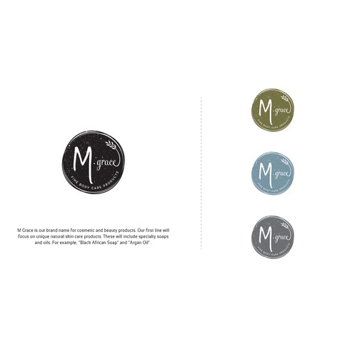 Modern Body Care Product Logo, with an Attention Grabbing Twist