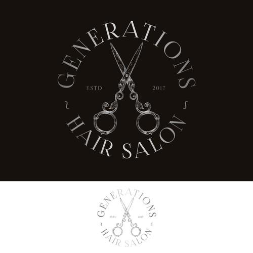 Logo for a hairdresser