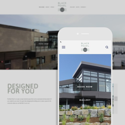 Squarespace Website Design and Branding for Event and Wedding Venue