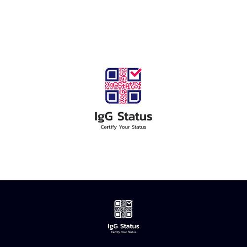 Logo concept for IgG Status