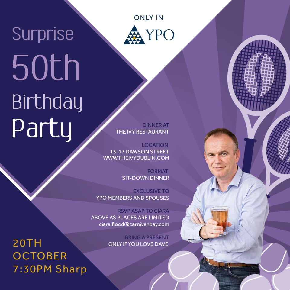 Surprise 50th Birthday Party