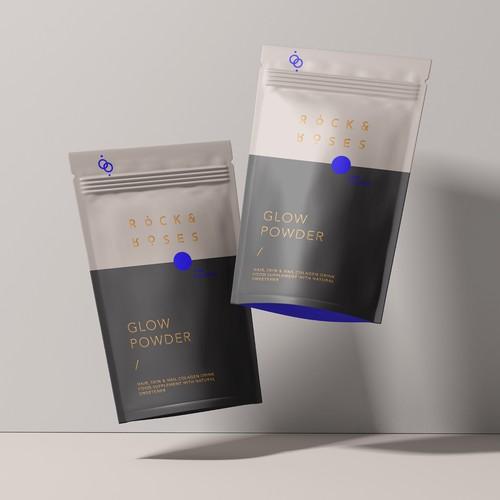 Packaging design for Minimal Collagen Brand