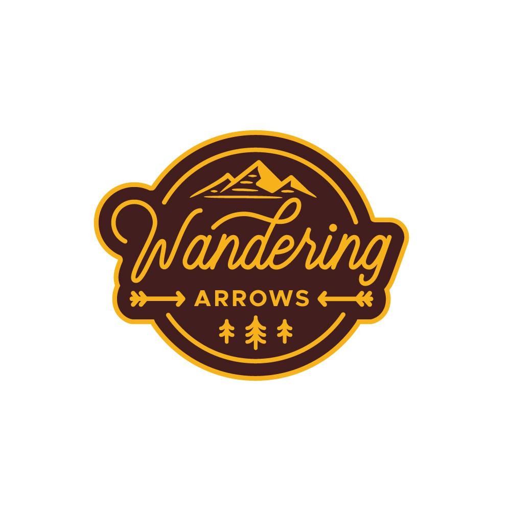 Wandering Arrows - Family Travel YouTube Channel Logo