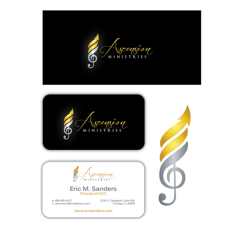 Design a Logo & Business Card for Ascension Ministries