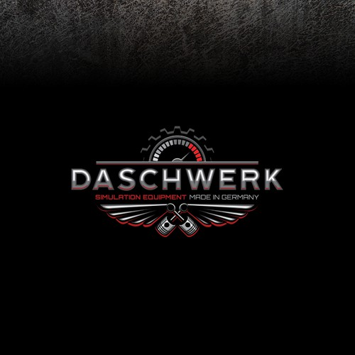 Logo for racing and flight simulation equipment manufacturer