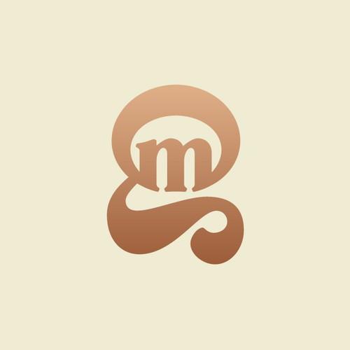 Letter mark G M