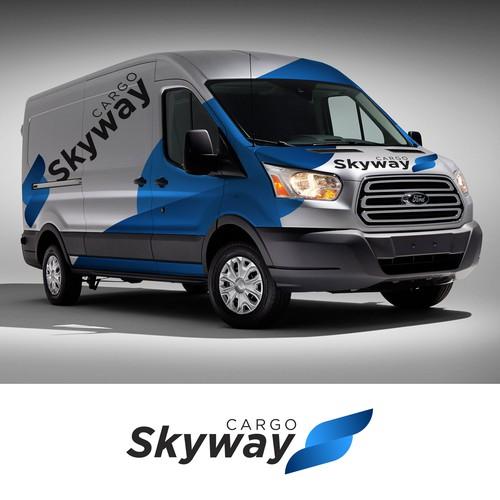 SkyWay Logo Design
