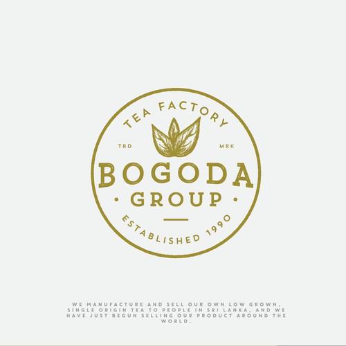 Logo for Bogoda Group - Tea Factory in Sri Lanka