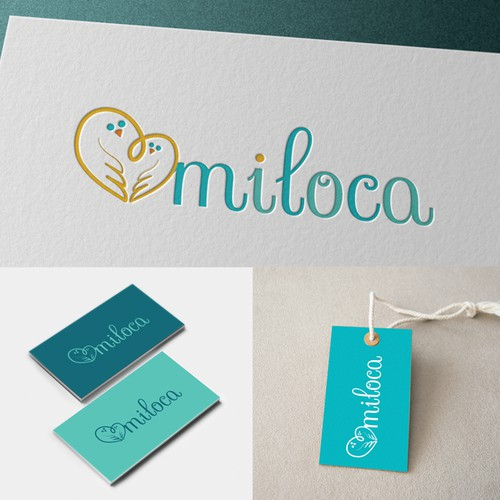 Create a brand logo for new baby delivery service