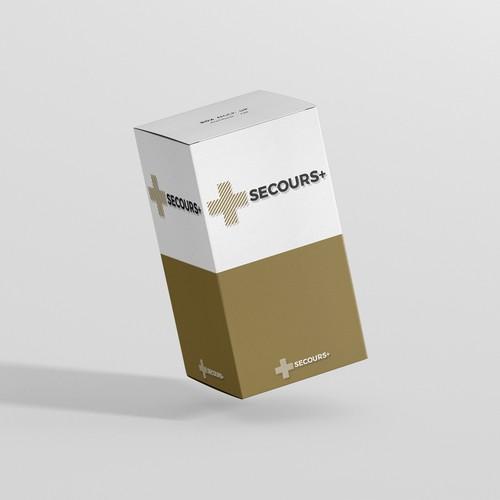 logo design concept : Secours+