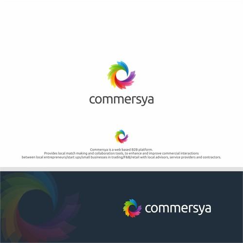 An internet platform for aspiring new businesses needs a modern inspiring logo and branding