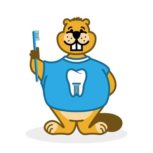 Maskottchen für eine Zahnarztpraxis