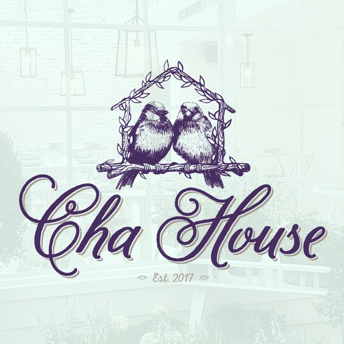 Concept logo for Cha House