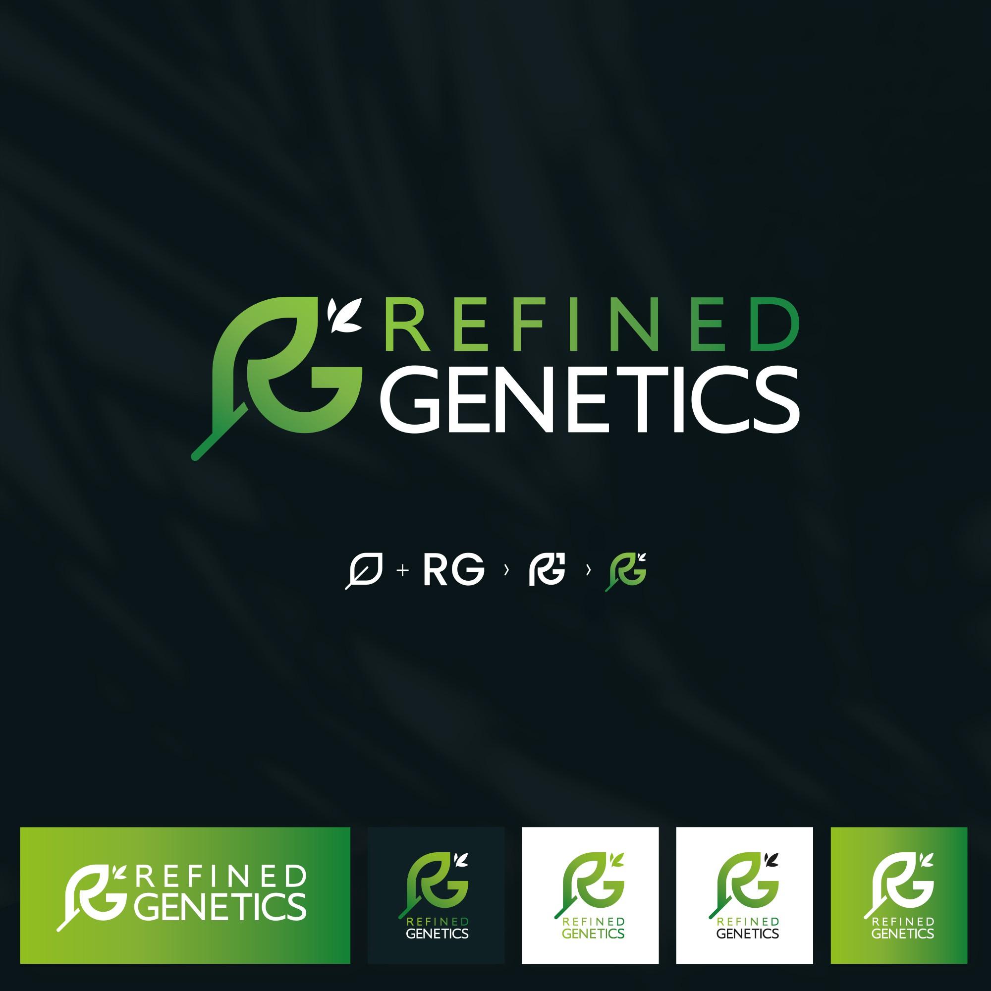Design a logo for a cutting edge cannabis genetics company