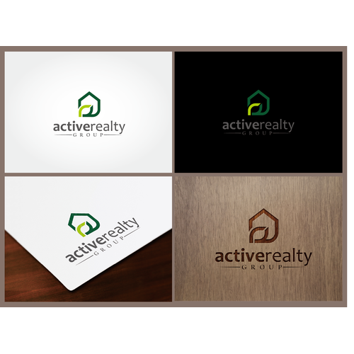 Rebrand capturing logo for real estate firm Active Realty