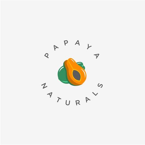 Logo Design for Papaya Naturals