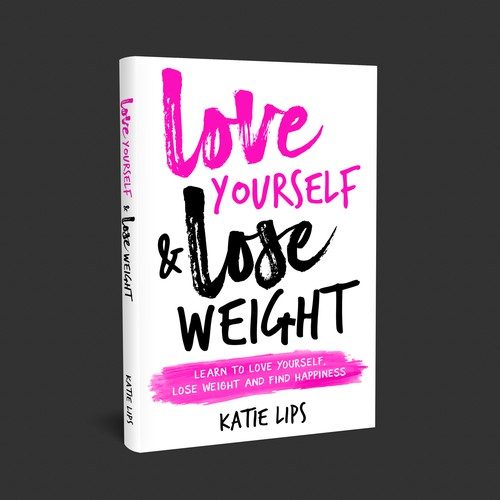 Typography Based book About Loving Yourself and Losing Weight