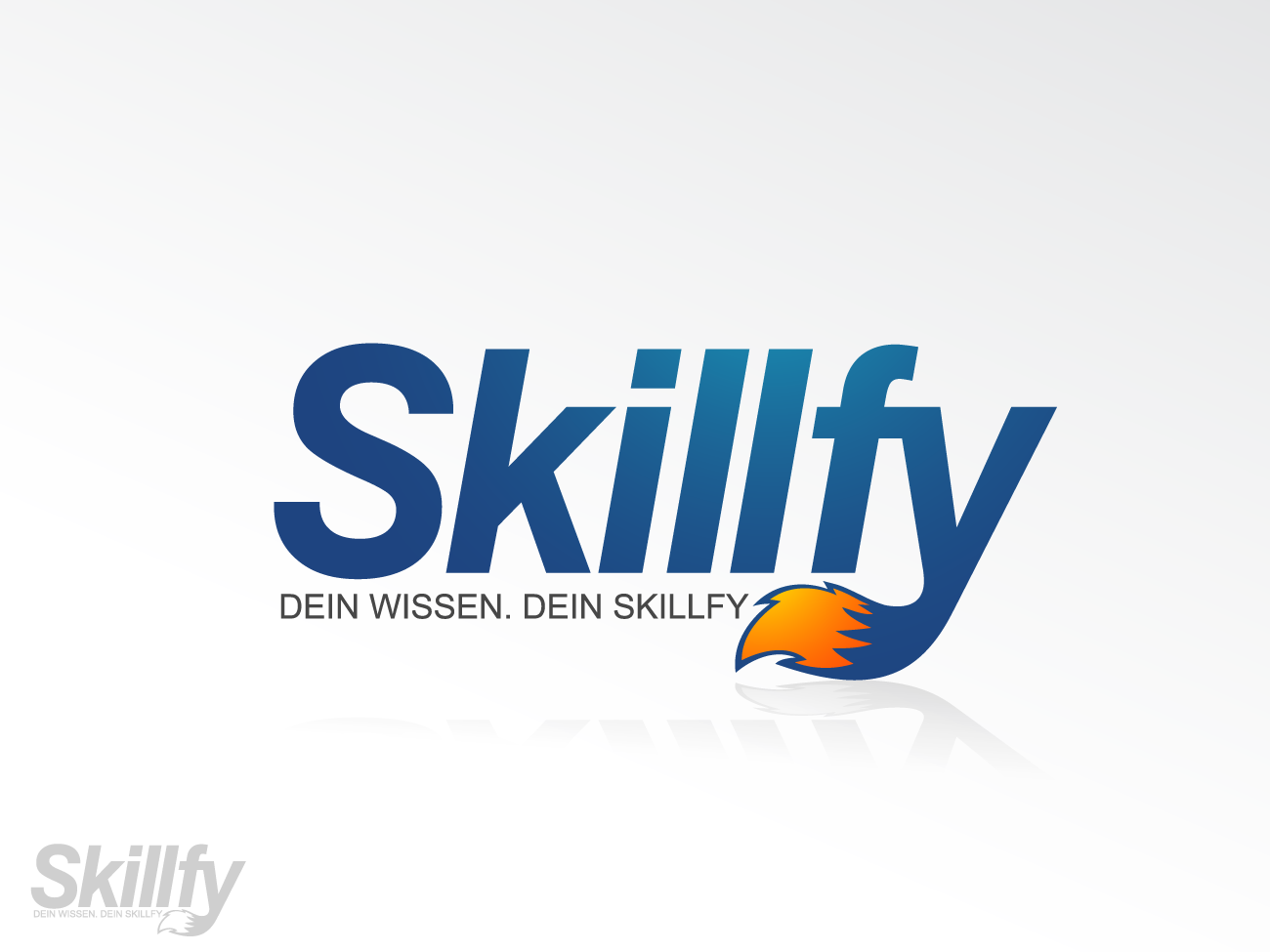 For foxy designers: Create a modern startup logo for SKILLFY (optional: with a fox mascot symbol)